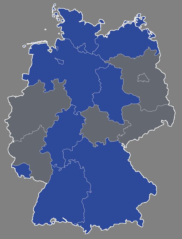 Abbildung DAN-DIMAG-Verbreitung